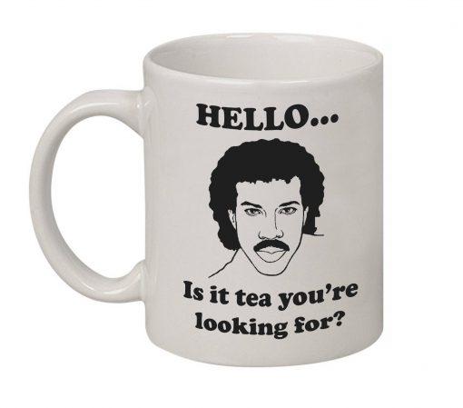 lionel richie tea mug